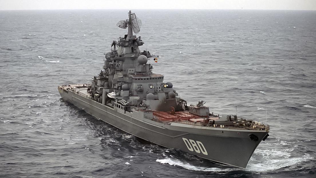 El modernizado crucero ruso Admiral Najímov: así será el buque de guerra más grande y potente del mundo que no sea un portaviones