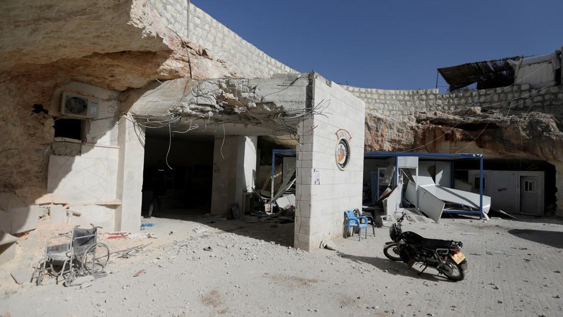 El Ministerio de Defensa ruso anuncia que terroristas preparan una provocación en Idlib con el uso de armas químicas