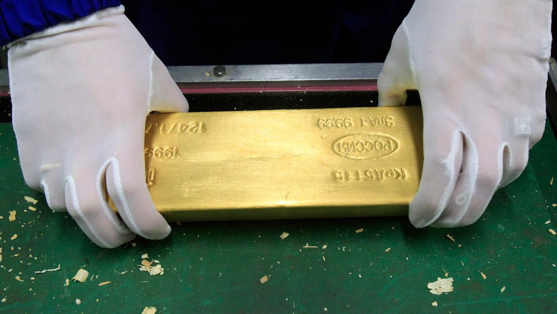 Las reservas de Rusia en oro y moneda extranjera crecen en más de 3.000 millones de dólares en una semana
