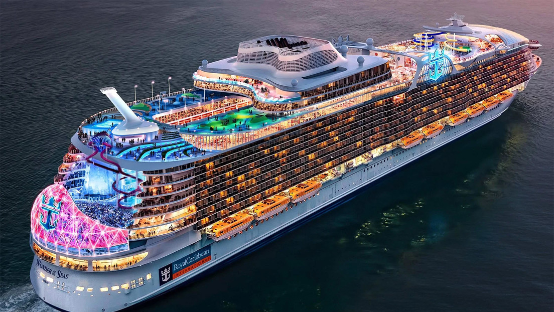'Maravilla de los mares': así será el lujoso crucero más grande del mundo, capaz de transportar a casi 7.000 personas (FOTOS)