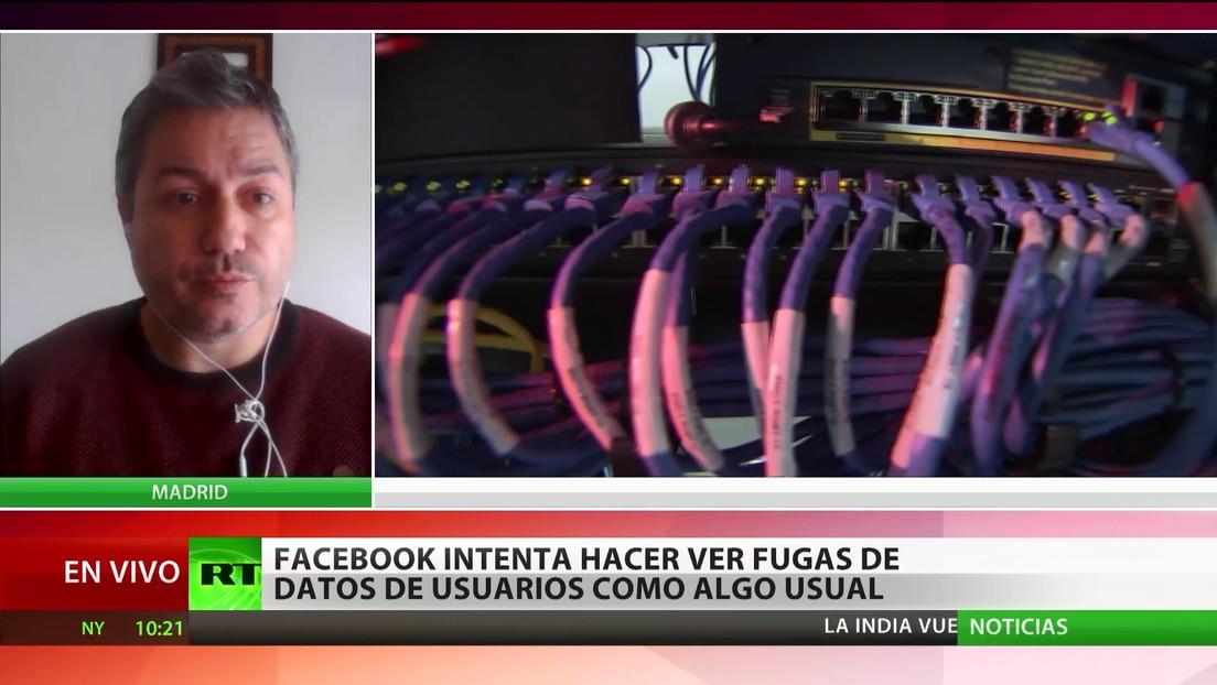Facebook intenta hacer ver las fugas de datos de usuarios como algo normal