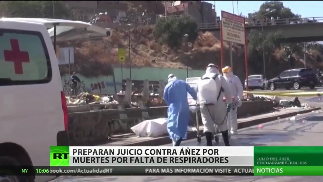 Preparan un juicio contra Jeanine Áñez por las muertes provocadas por la falta de respiradores