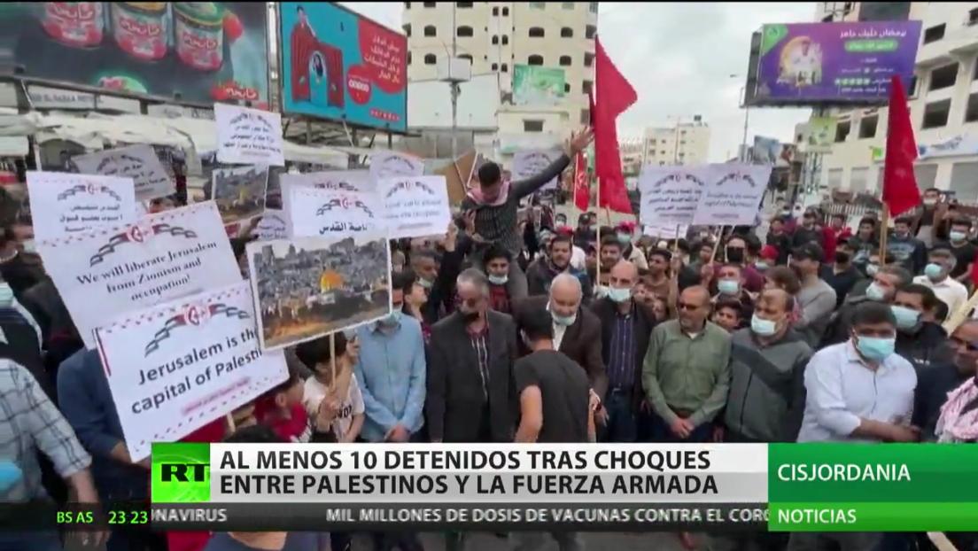 Protestas en rechazo a la violencia en Jerusalén tras los enfrentamientos entre árabes y judíos de extrema derecha