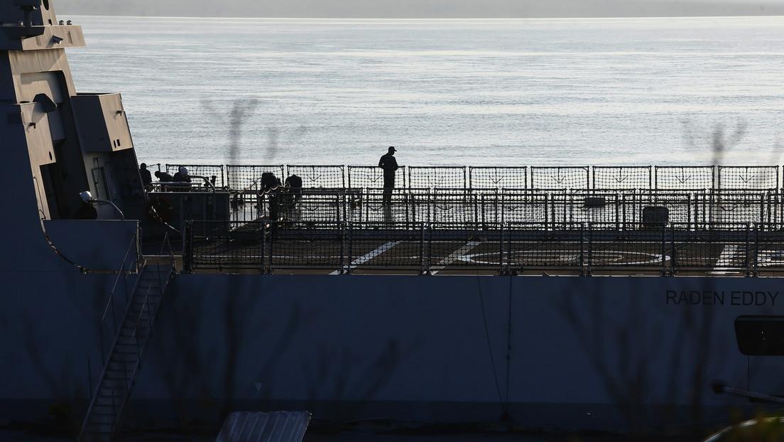 El presidente indonesio confirma que el submarino desaparecido ha sido declarado hundido