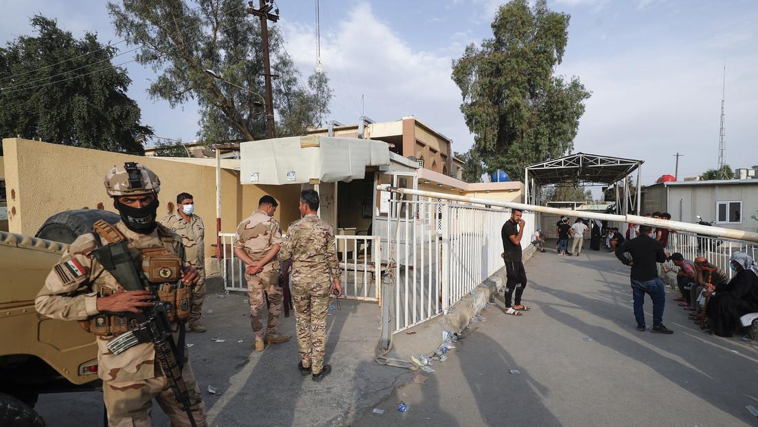 VIDEO: Momento de la explosión de un tanque de oxígeno, causa del incendio en un hospital que dejó decenas de muertos y más de 100 heridos en Irak