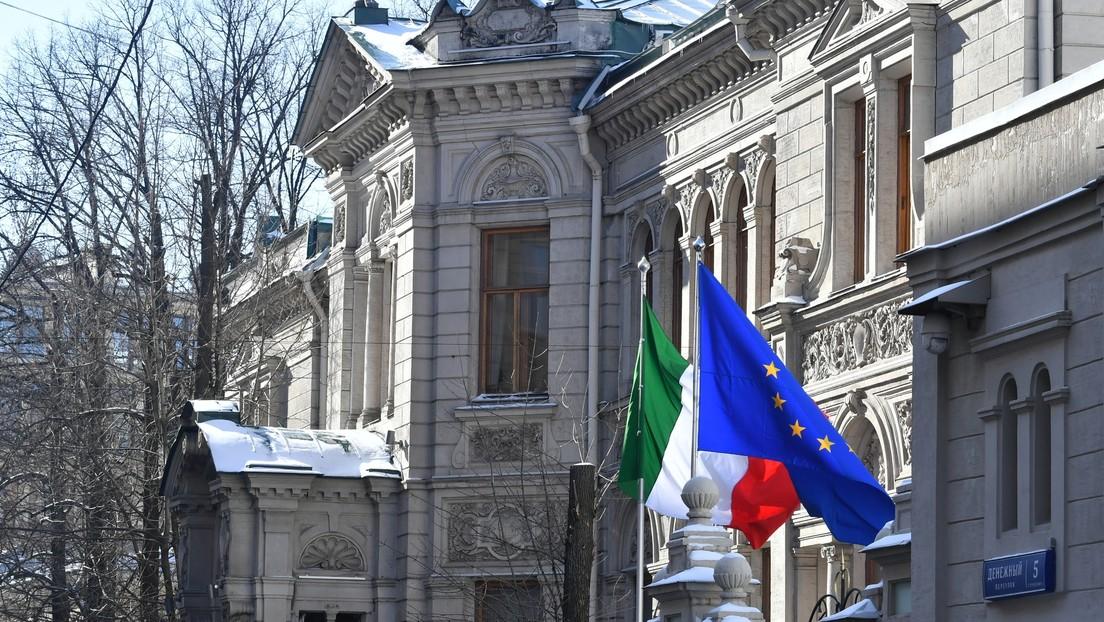 Rusia expulsa a un empleado de la Embajada italiana en respuesta a una medida similar de Roma