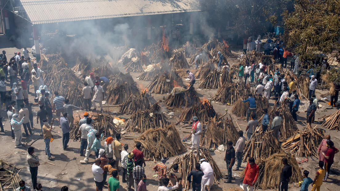 Las desgarradoras imágenes del impacto del covid-19 en la India (FOTOS)