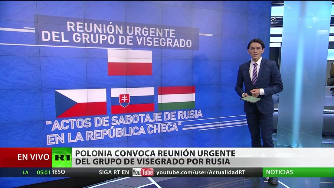 Polonia convoca urgentemente una reunión del grupo de Visegrado por Rusia