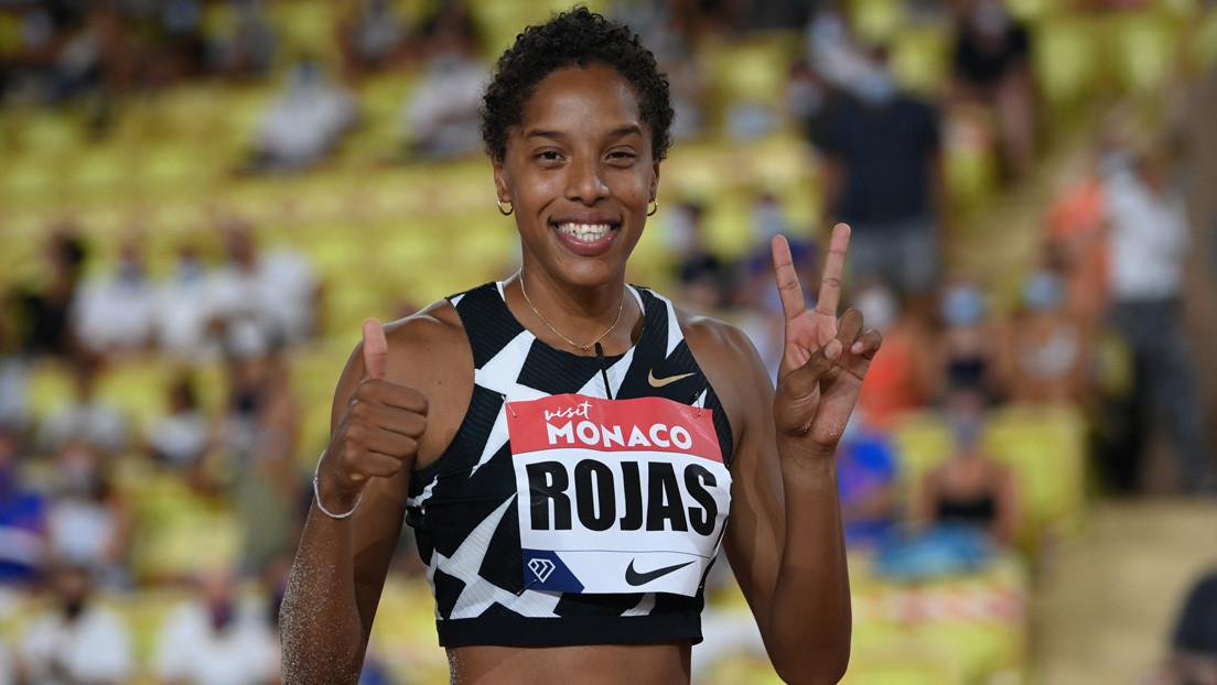 La venezolana Yulimar Rojas ingresa al Guinness World Records por su triple salto bajo techo