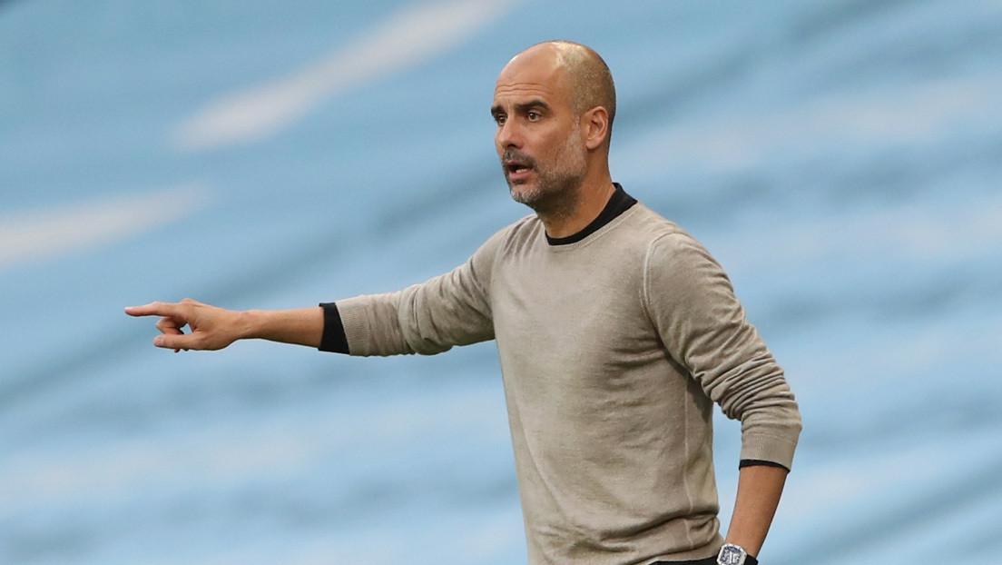 """Pep Guardiola revela que uno de sus """"jugadores favoritos"""" en el Manchester City fichará por el Barcelona"""