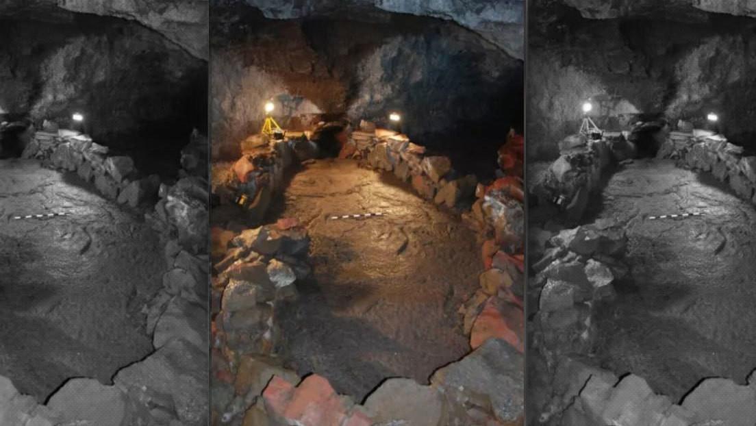 Este barco de piedra en una cueva de Islandia podría evitar el fin del mundo, según los vikingos