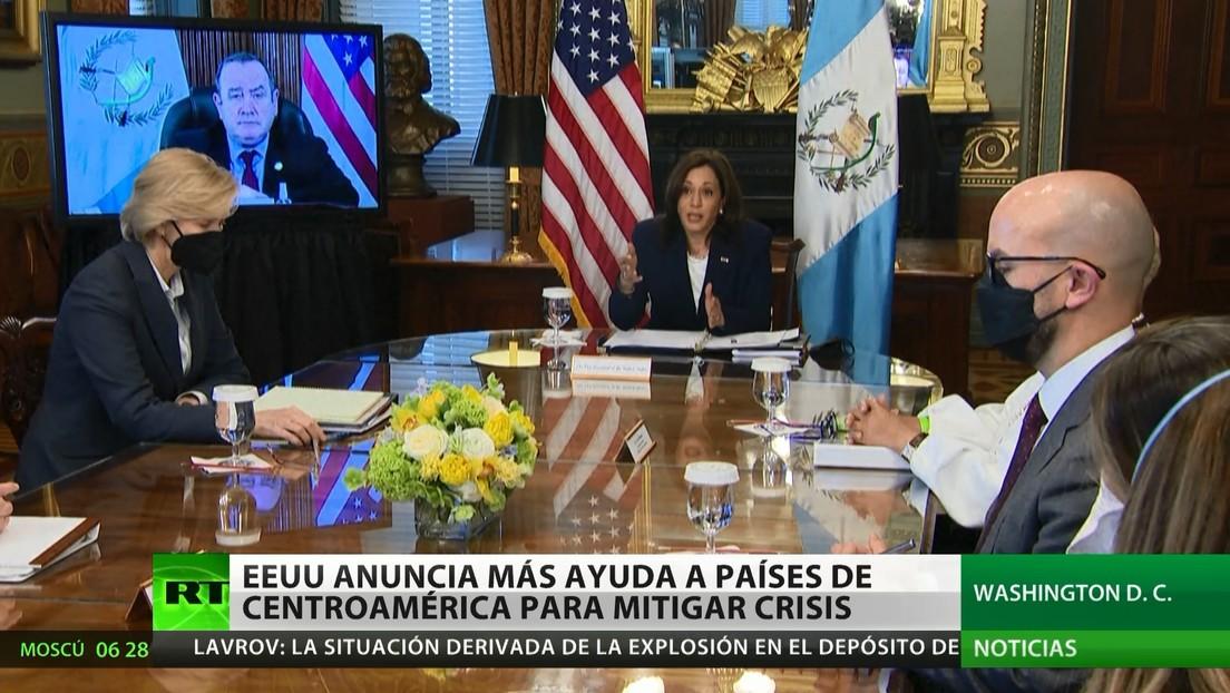 EE.UU. anuncia más ayuda a países centroamericanos para mitigar la crisis migratoria