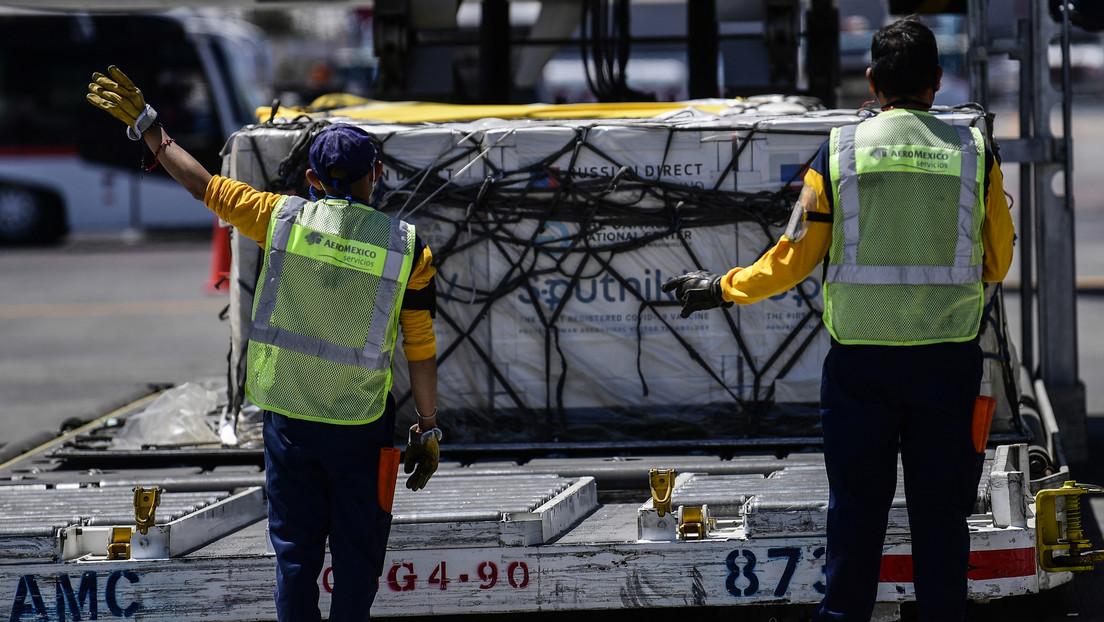 Las entregas de Sputnik V a México alcanzan las 900.000 dosis