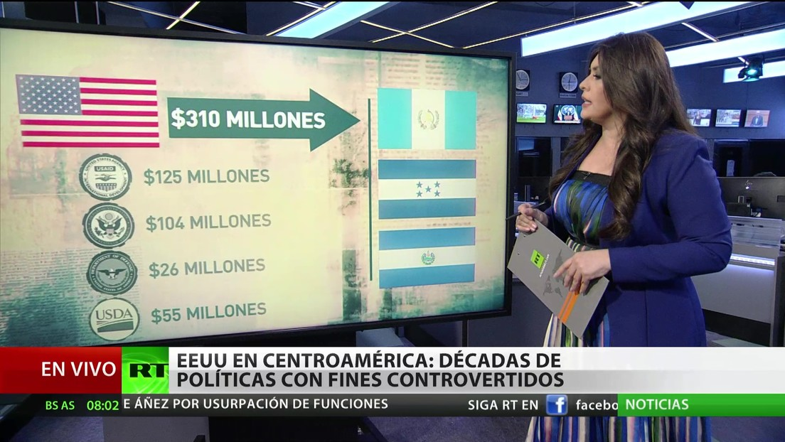 EE.UU. en América Central: Décadas de políticas con fines controvertidos