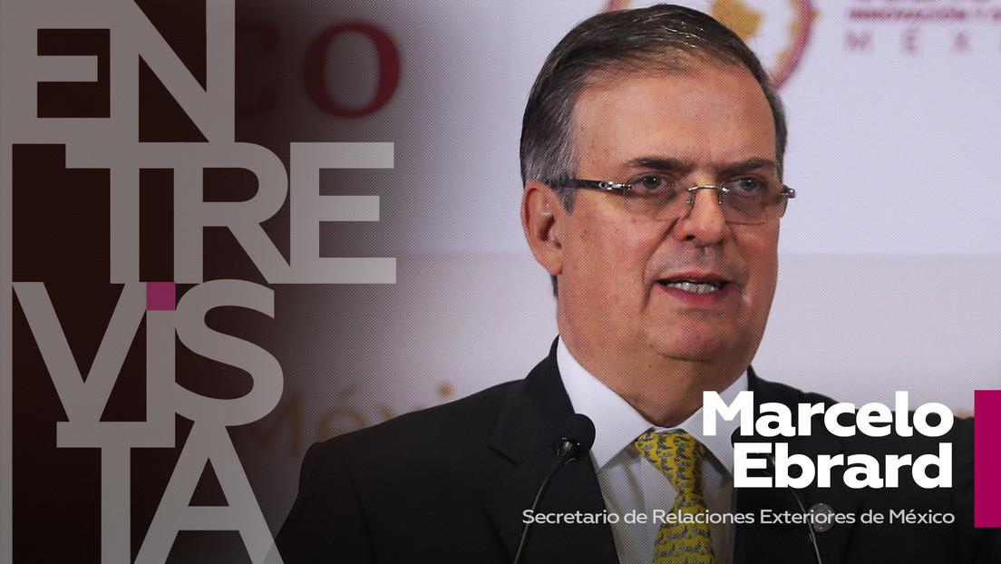 """Marcelo Ebrard: """"México ya está envasando dos vacunas y nos gustaría mucho hacerlo con Sputnik"""""""