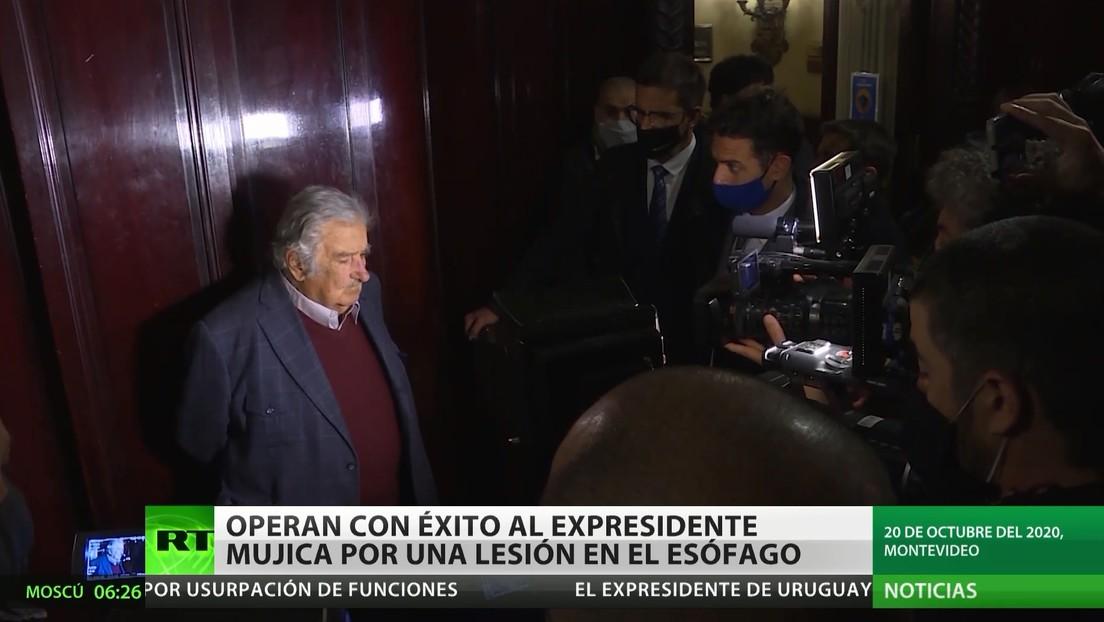 Uruguay: Operan con éxito a Mujica por una lesión en el esófago