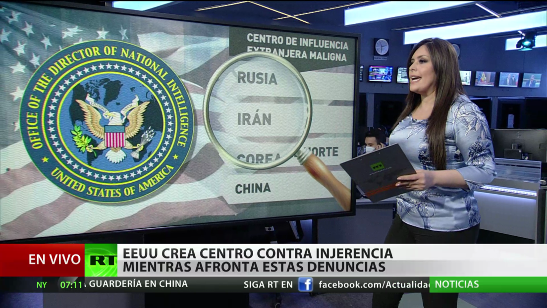 EE.UU. crea el Centro de Influencia Extranjera Maligna contra la supuesta injerencia exterior