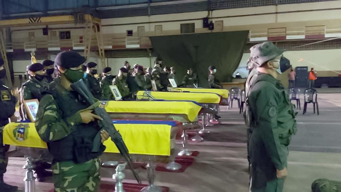 Ocho militares venezolanos mueren en combates contra grupos irregulares armados colombianos