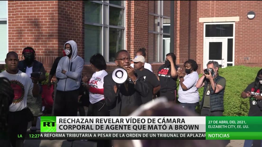 Rechazan revelar el video de cámara corporal del policía que mató al afroamericano Andrew Brown