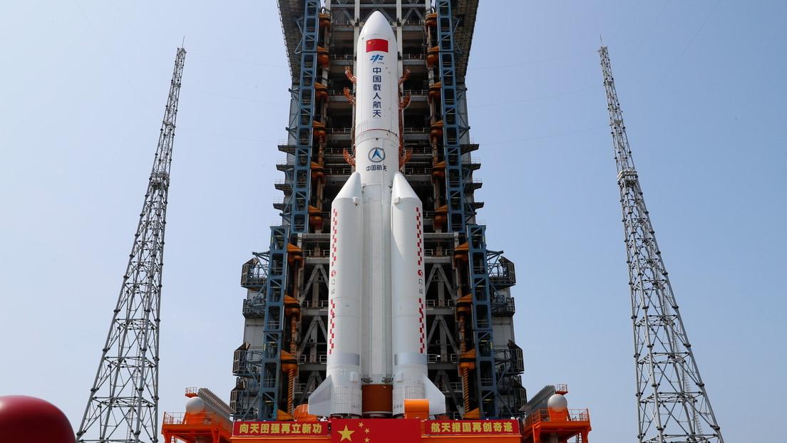 VIDEO: China lanza al espacio el módulo central de su estación espacial