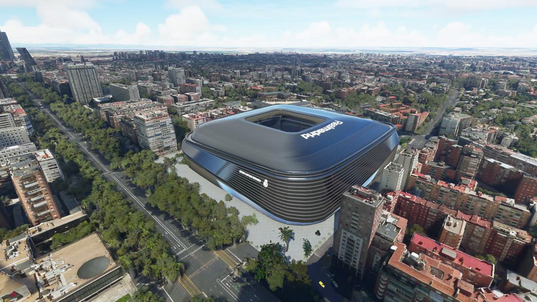 VIDEO: La espectacular simulación aérea que muestra cómo luciría el estadio del Real Madrid dentro de un año
