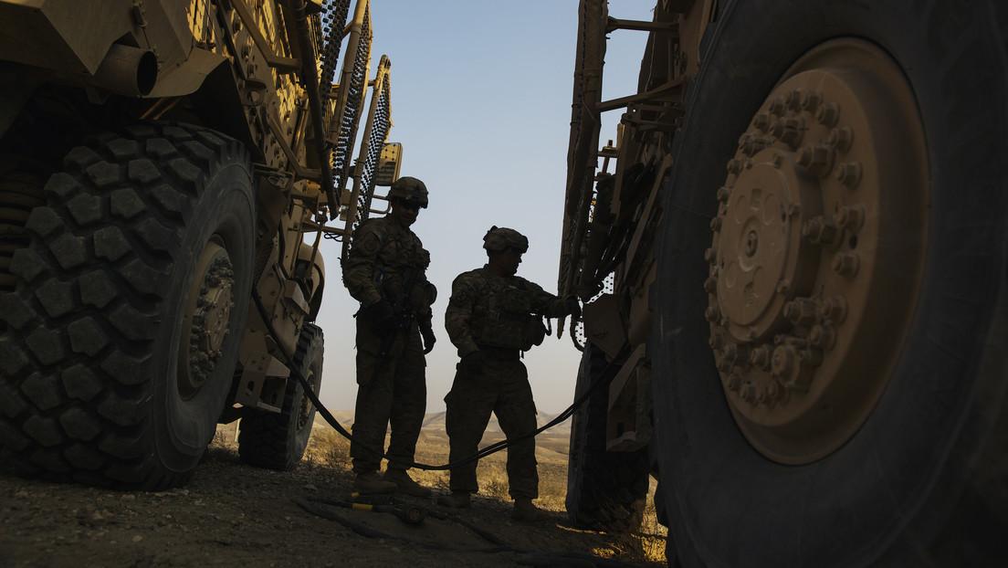 EE.UU. comienza a retirarse de Afganistán (con el envío de más tropas y equipo para proteger las fuerzas)
