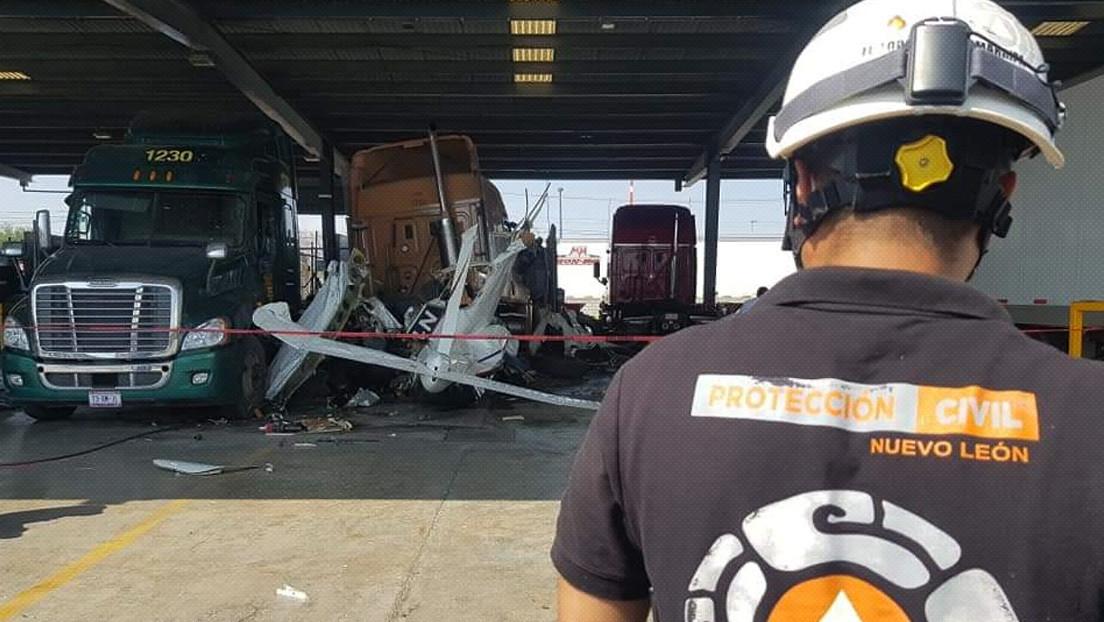 Reportan al menos cuatro muertos al caer una avioneta en el estado mexicano de Nuevo León