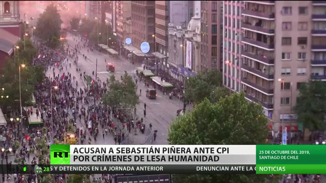 Acusan a Sebastián Piñera ante la Corte Penal Internacional por crímenes de lesa humanidad