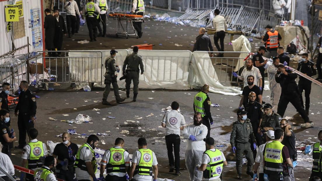 """""""Un terrible desastre"""": Decenas de muertos y heridos tras una estampida en una celebración religiosa en Israel (FOTOS, VIDEOS)"""