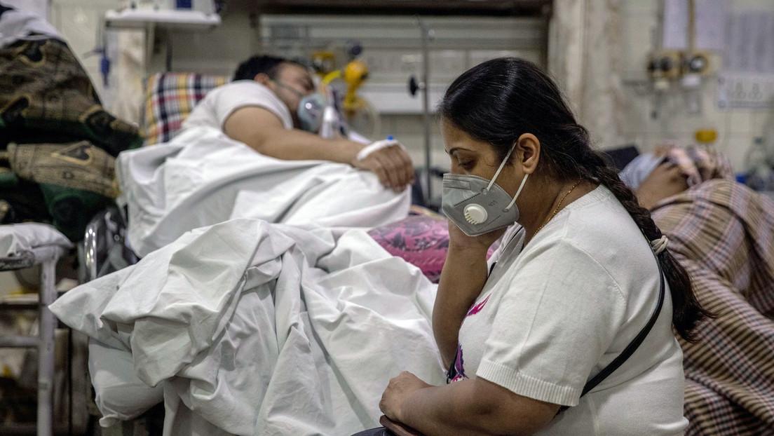 La India bate un nuevo récord de infecciones diarias por covid-19 con más de 386.400 contagios