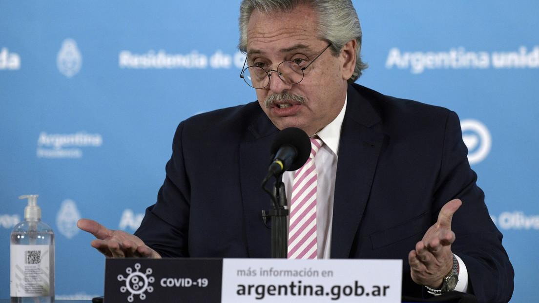 Presidente de Argentina, Alberto Fernández
