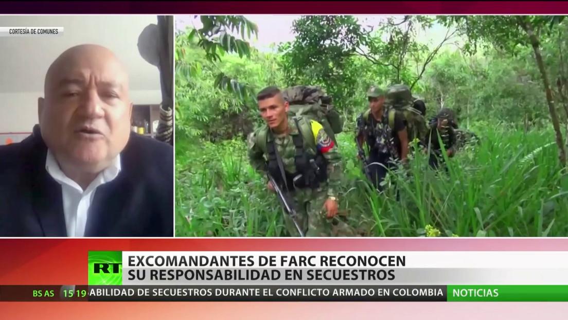 Excomandantes de las FARC reconocen su responsabilidad en secuestros