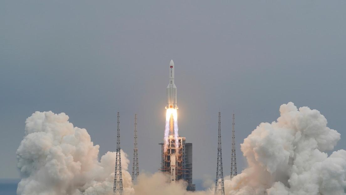 Un cohete espacial chino de 30 metros amenaza con caer fuera de control sobre la Tierra