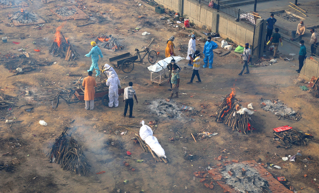 Las desgarradoras imágenes del impacto del Covid-19 en la India, devastada por el virus - abril 27, 2021 5:52 pm - NOTIGUARO - Internacionales