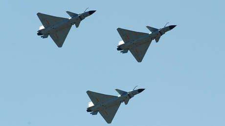 Diez aviones de combate chinos sobrevuelan la zona de identificación de defensa aérea de Taiwán