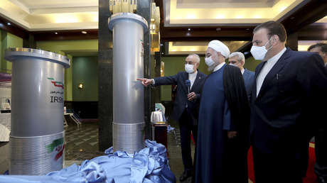 Irán pone en marcha casi 200 nuevas centrifugadoras nucleares