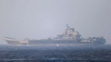 Fotos por satélite muestran grupos de portaviones de China y EE.UU., concentrados en el mar de la China Meridional