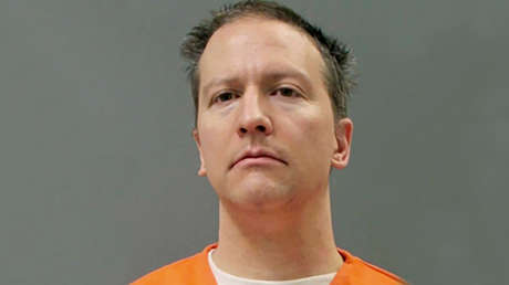 Publican una foto de Derek Chauvin con uniforme de preso tras ser declarado culpable de la muerte de George Floyd - RT
