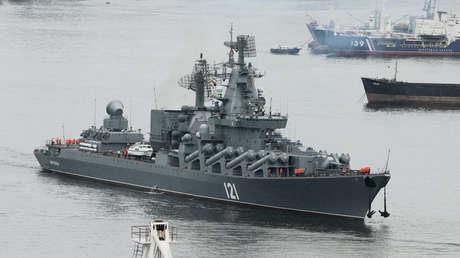 Crucero ruso de misiles Moskvá