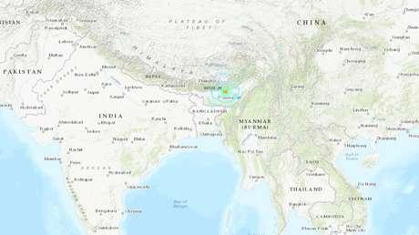 Se registra un potente sismo de magnitud 6,2 en la India (FOTOS, VIDEOS)