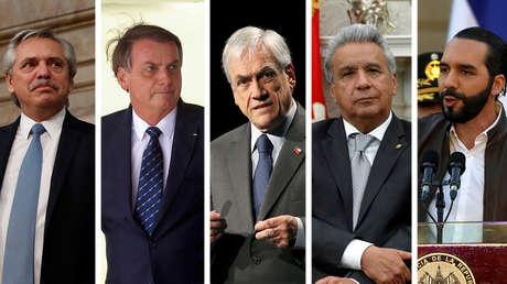 ¿Quiénes son los mejor y peor valorados? La nueva ola del coronavirus pone a prueba la imagen de los líderes de América Latina