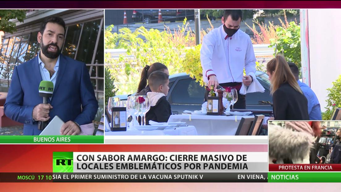 Con sabor amargo: cierre masivo de locales emblemáticos en Buenos Aires por la pandemia de covid-19
