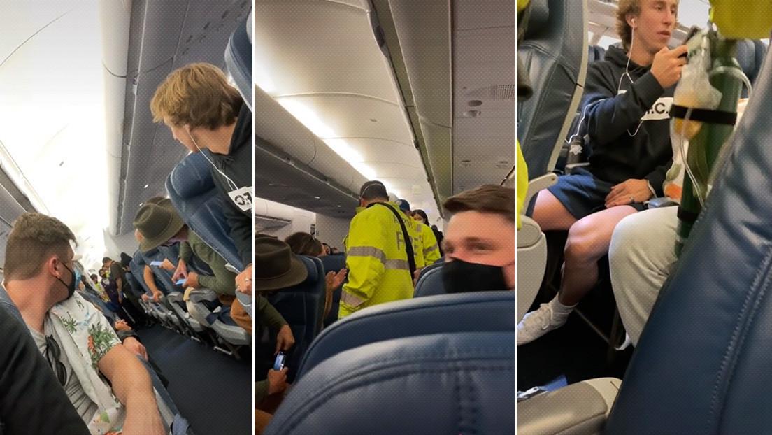 Una mujer no sabía que estaba embarazada y da a luz en pleno vuelo rumbo a Hawái
