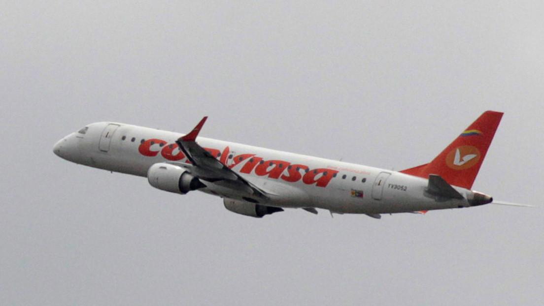 Llega a Venezuela el primer vuelo de la ruta aérea Caracas-Moscú