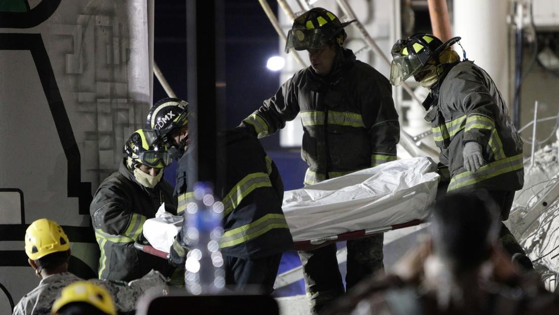 """""""Tenemos que llegar a la verdad"""": la jefa de Gobierno de Ciudad de México anuncia un peritaje externo para conocer las causas del accidente de metro"""