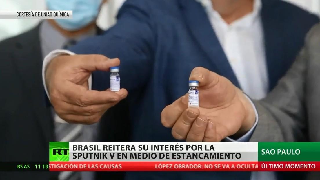 Brasil reitera su interés por la vacuna rusa Sputnik V tras obstáculos para su importación