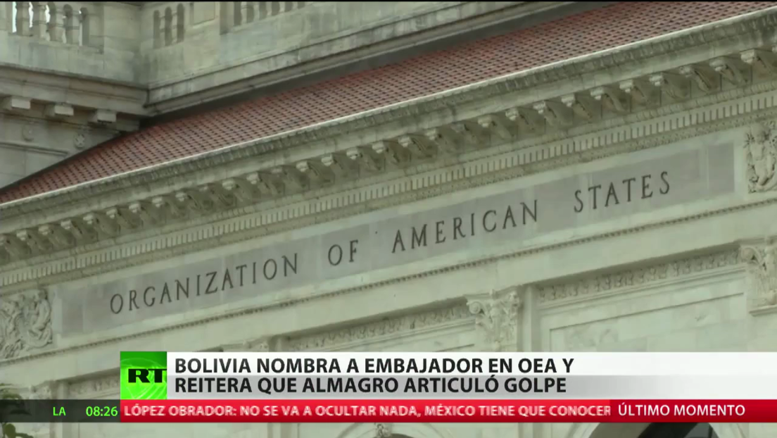 Bolivia nombra a Héctor Arce embajador ante la Organización de los Estados Americanos