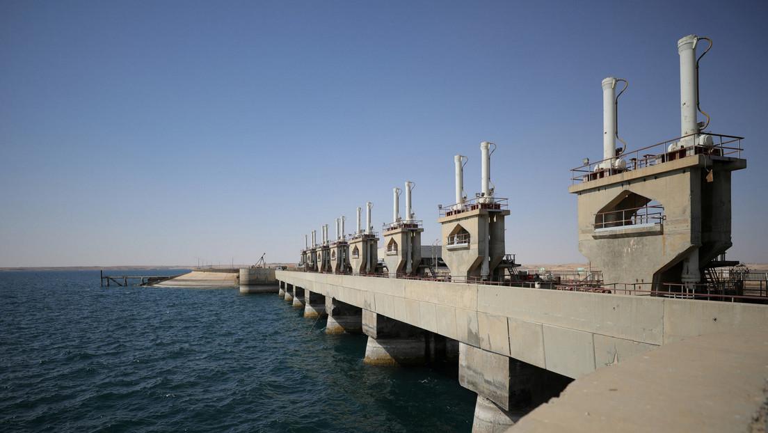 Denuncian en Siria que Turquía 'robó' agua del río Éufrates e impidió su llegada al territorio del país