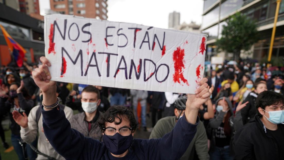 Manifestantes y agentes heridos, disturbios y saqueos en el séptimo día de protestas en Colombia (VIDEOS)