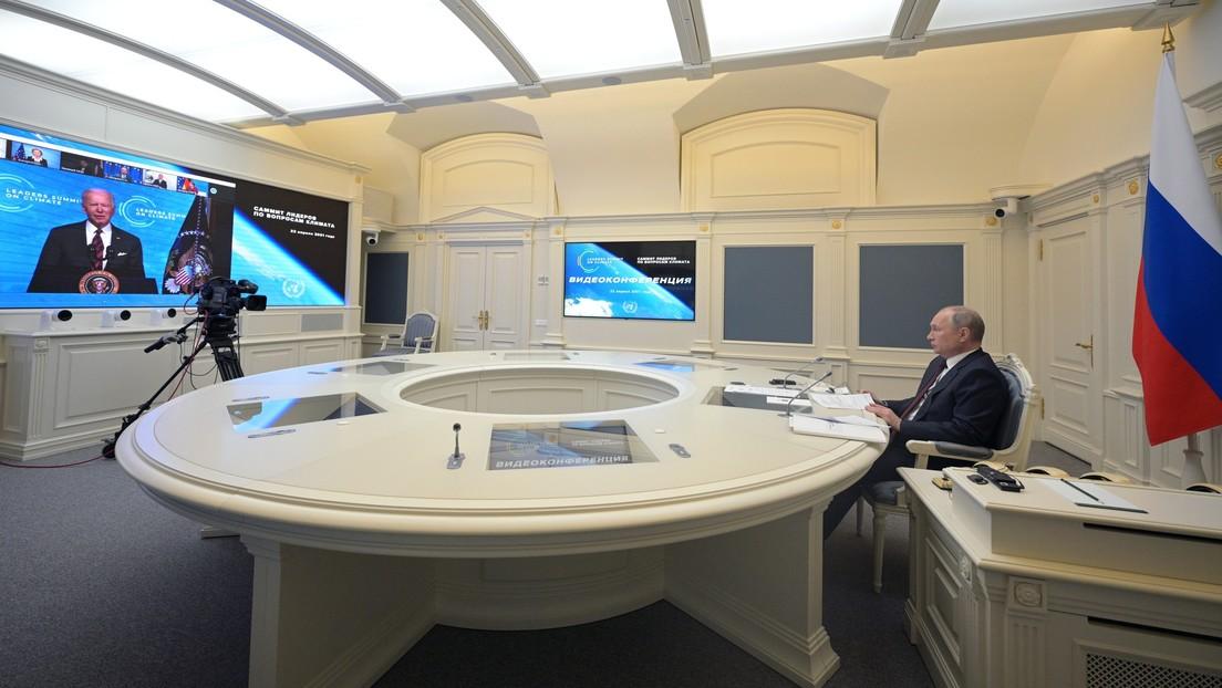 """Biden dice que es su """"esperanza y expectativa"""" celebrar una cumbre con Putin durante su viaje a Europa en junio"""